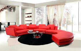 Red Sectional Sofas by Red Sectional Sofa Red Sectional Sofa With Ottoman Dazzling