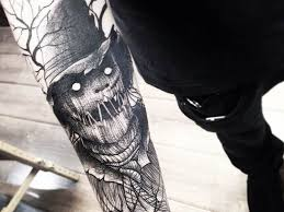 150 scary and nightmares tattoos tattoozza