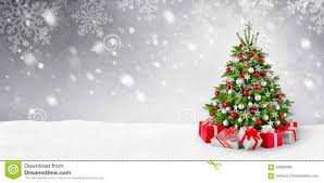 christmas tree with snow christmas tree and snow background stock photo image 62309406