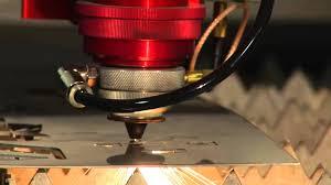 Steel Cutter Laser Cutting Stainless Steel 1 15 Boss Laser Metal Cutter Youtube