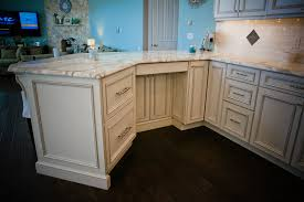Kitchen Desk Cabinets Coastal Elegant Kitchen Point Pleasant New Jersey By Design Line