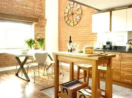 kitchen island breakfast table dining table for small kitchen amazing height kitchen