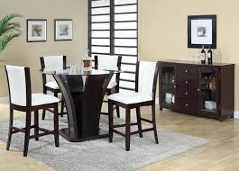malik 5pc counter height dining set 70510a 70512a