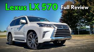 lexus truck lx 2018 lexus lx 570 full review youtube