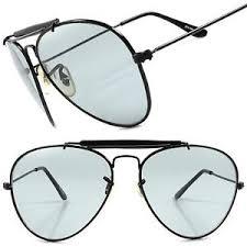 mens light tint sunglasses black light tint lenses classic vintage retro 80s fashion mens