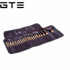 gte 24 piece makeup brush set lazada malaysia