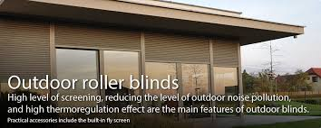 Outdoor Rolling Blinds Isotra Blinds And Roller Blinds Jewellery For Your House