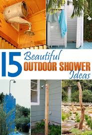 15 beautiful diy outdoor shower ideas