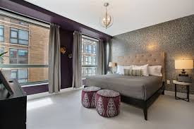 Taupe Coverlet Master Bedroom With Carpet U0026 Pendant Light In Denver Co Zillow