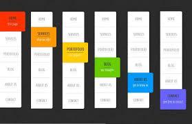 css menu bar template eliolera com