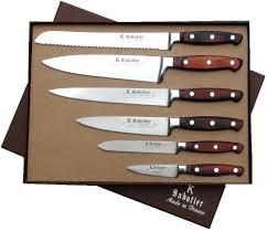 set de couteau de cuisine set de couteaux de cuisine professionnel coffret 6 piaces de la