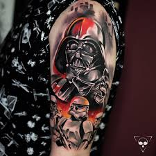 star wars tattoo by michael litovkin