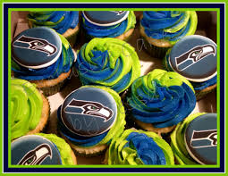 seahawks thanksgiving game seattle seahawks cupcakes perfect for game night with your