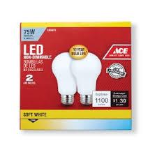 75 watt led light bulbs ace led light bulb 75 watts rockbridge farmer s cooperative