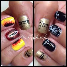 halloween rings lord of the rings nails lord of the rings eye of sauron tree of