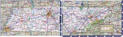 Tennessee State Parks Map by Large Detailed Roads And Highways Map Of Tennessee State With All