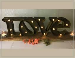 inventory specialty props for rent rental items for weddings