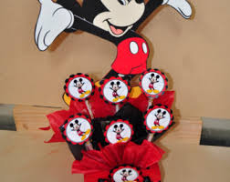 mickey mouse centerpieces mickey centerpieces etsy