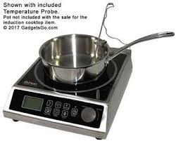 Induction Cooktop Cookware Max Burton 6515 Prochef 1800 Induction Cooktop 120v 1800w On