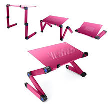 Folding Bed Tray Lifebasis Laptop Stand Tray Adjustable Folding Bed Table Desk