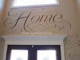 Entryway Painting Ideas Decorative Painting Idea For Your 2 Story Foyer U0026 Adjacent Dining
