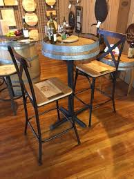 italian bar stools with wine barrel stave back u2013 live oak wine decor