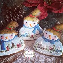 snowman cookies christmas cookies gingerbread cookies