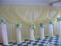 wedding backdrop curtains aliexpress buy new 2016 fashion lavender wedding backdrop