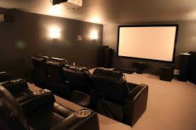 small home theater room size colors for walls setup simple ideas