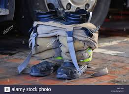 Firefighter Three Boots by Fireman U0027s Uniform Stock Photos U0026 Fireman U0027s Uniform Stock Images