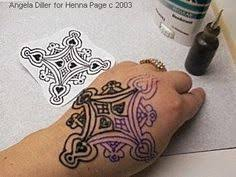create your own tattoo transfers this is for henna but i