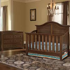 Bertini Pembrooke 4 In 1 Convertible Crib by Thomasville 2 Piece Nursery Set Southern Dunes Lifestyle Crib