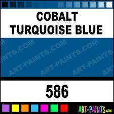 blue paints cobalt turquoise blue artists oil paints 586 cobalt turquoise