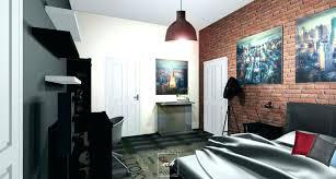 chambre style loft industriel deco maison style industriel loft garage a decoration maison style