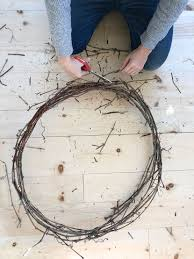 make your own grapevine wreath fresh exchange