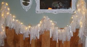 lighted garland wedding decorations diy light tulle garland
