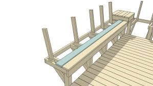 remodelaholic how to build space saving deck benches for a small