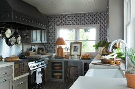 easy kitchen backsplash easy kitchen plan with simple painted tiles for kitchen