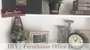 Rustic Office Decor Room Decor Rustic Farmhouse Office Decor Youtube