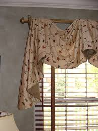 interior grey and yellow valance curtain valances window