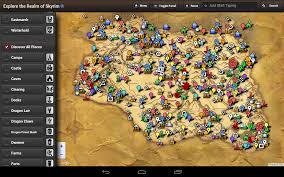 Fallout 3 Interactive Map Skyrim Map Hd Amazon De Apps Für Android