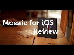 Hom Photo Album Mosaic Photo App And Photo Album For Ios Review Youtube