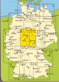 Bamberg Germany Map by German Maps Guides And Cycling Maps To Buy Online From The Map Shop