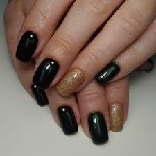 31 nail designs black 25 elegant black nail art designs for