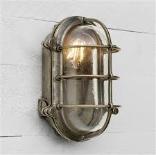 Bulkhead Outdoor Lights Brass Bulkhead Light Porch Garden Lantern Exterior Lighting