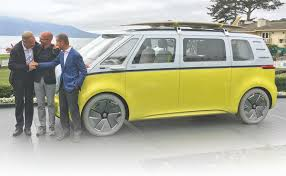 volkswagen van 2018 vw u0027s hippie mobile goes commercial