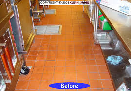 Commercial Kitchen Floor Tile Quarry Tile Cleaning Floor Refinishing Natural Stone And Tile