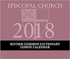 Liturgical Desk Calendar Episcopal Liturgical Appointment Calendar 2018 Cathedral Church