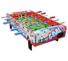table top football games buy chad valley 3ft football game table top football tables argos