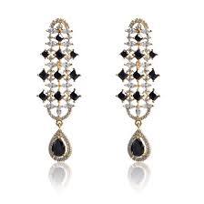 dangler earrings american diamond dangler earrings fascraft online